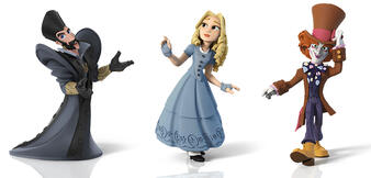 Alice & Co. als Disney Infinity 3.0-Figuren