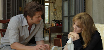 Angelina Jolie und Brad Pitt in By the Sea