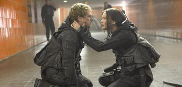 Josh Hutcherson und Jennifer Lawrence