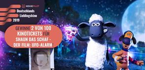 Shaun das Schaf: Wir verlosen 100 Kinotickets für das Knet-Abenteuer UFO-Alarm
