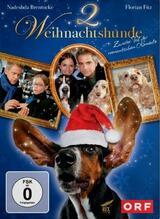 2 Weihnachtshunde - Poster