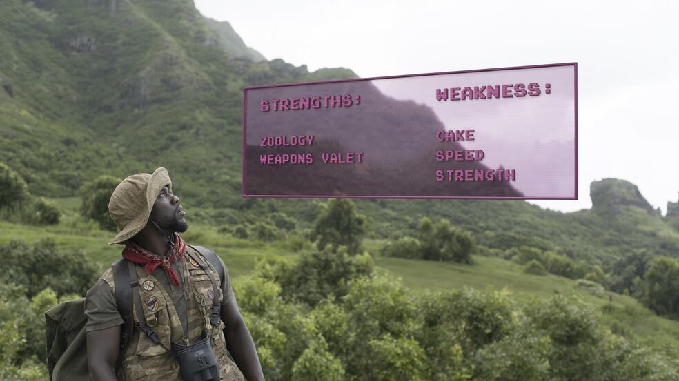Jumanji - Willkommen im Dschungel mit Kevin Hart