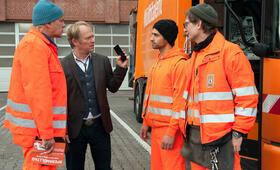 Die Drei von der Müllabfuhr - Baby an Bord mit Uwe Ochsenknecht, Daniel Rodic, Rainer Strecker und Jörn Hentschel - Bild 2