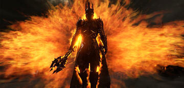 Herr der Ringe-Rückkehrer: Sauron als der Necromancer in Der Hobbit
