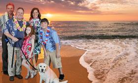 Ein Hund rettet den Sommer mit Gary Valentine, Martin Kove, Cole Jensen, Elisa Donovan und Francesca Capaldi - Bild 3