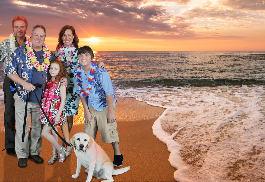 Ein Hund rettet den Sommer mit Gary Valentine, Martin Kove, Cole Jensen, Elisa Donovan und Francesca Capaldi
