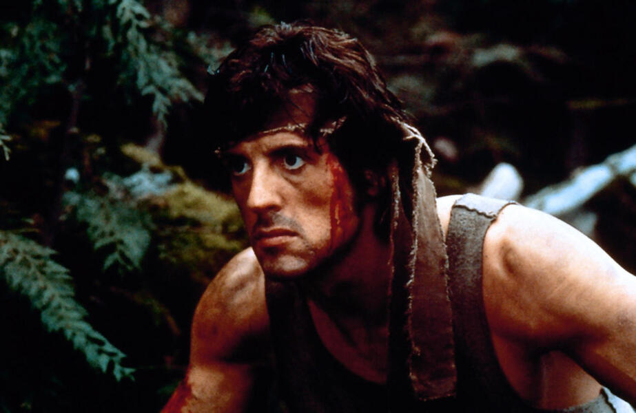 Rambo mit Sylvester Stallone