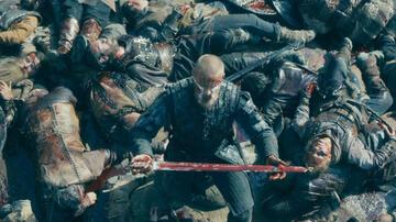 Björns blutige Vision im Finale der 5. Staffel Vikings