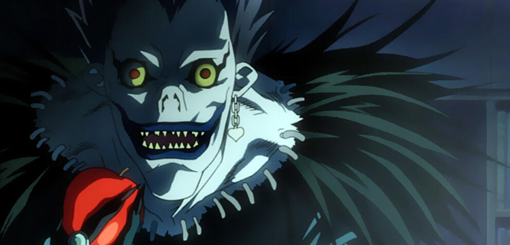 Todesgott Ryuk in Death Note