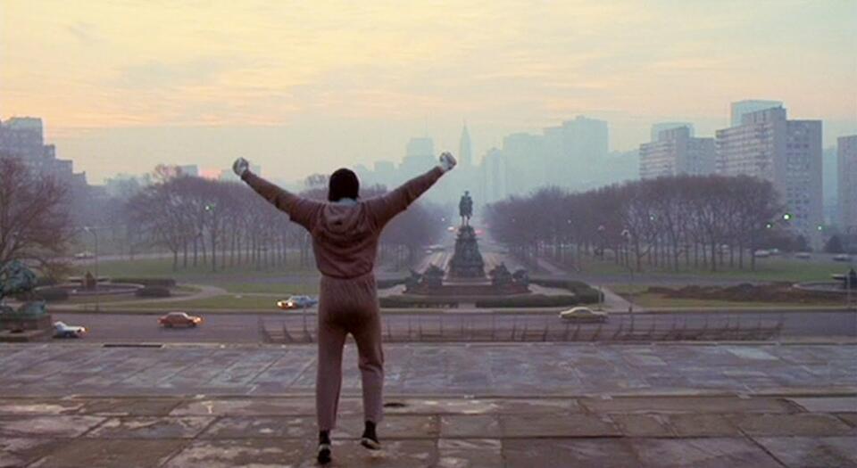 Rocky mit Sylvester Stallone