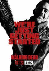 The Walking Dead Staffel 7 - Poster