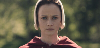 Alexis Bledel in The Handmaid's Tale
