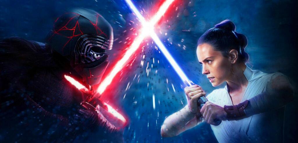 Lichtschwert-Duell in Star Wars