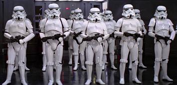 Bild zu:  Stormtrooper aus der Star Wars-Saga