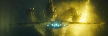 Godzilla 2: King Ghidorah und menschliche Technik als Maßstab