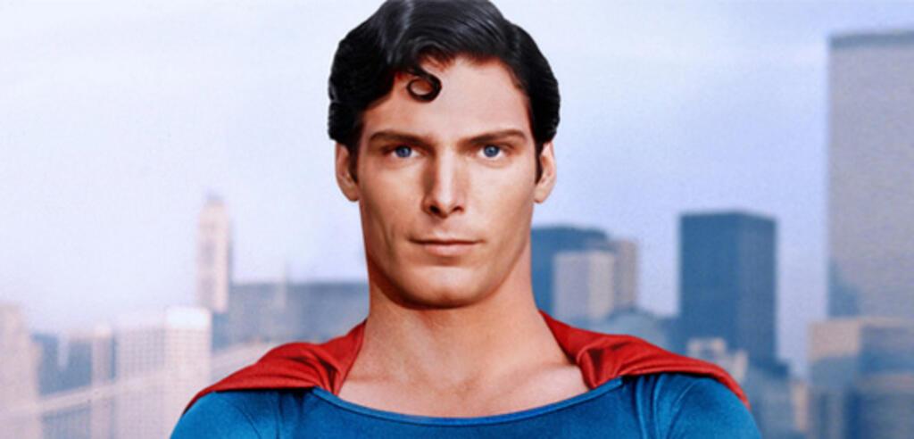 Christopher Reeve als Superman