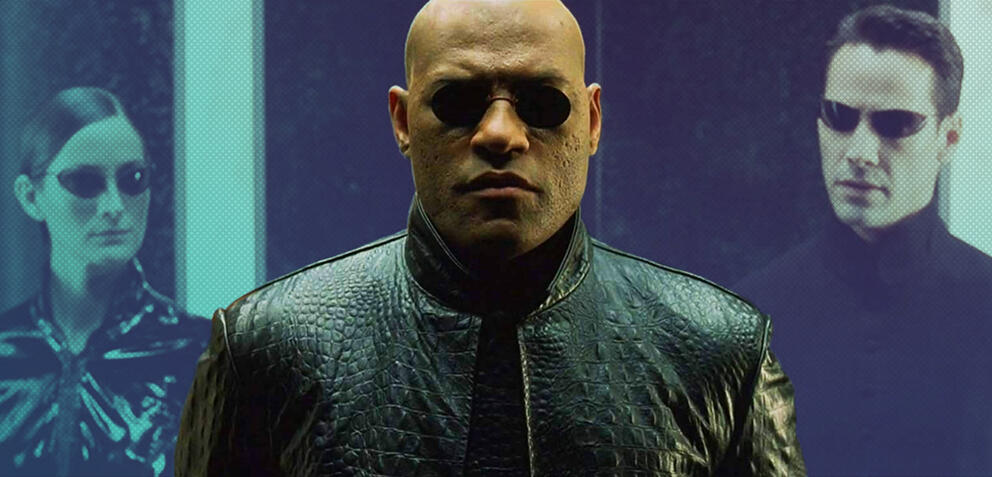 Laurence Fishburne als Morpheus in Matrix Reloaded