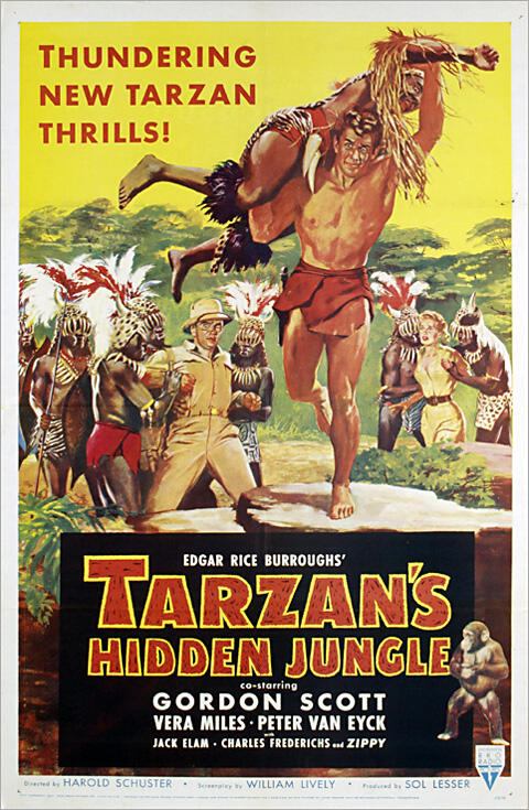 Tarzan und der schwarze Dämon