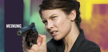 Bild zu:  The Walking Dead: Lauran Cohan als Maggie