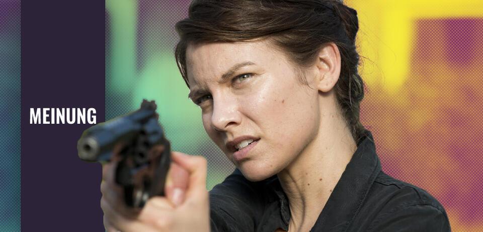 The Walking Dead: Lauran Cohan als Maggie