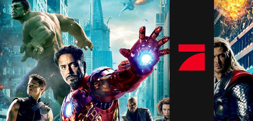 Die Marvel-Helden stürmen ProSieben