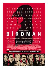 Birdman oder die unverhoffte Macht der Ahnungslosigkeit - Poster