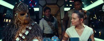 Star Wars 9 mit Oscar Isaac, Daisy Ridley, John Boyega und Joonas Suotamo