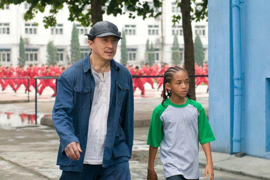 Karate Kid mit Jackie Chan und Jaden Smith