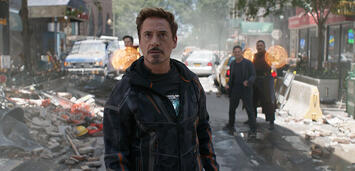 Bild zu:  Robert Downey Jr. in Infinity War