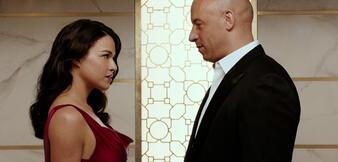 Nummer 1: Michelle Rodriguez & Vin Diesel