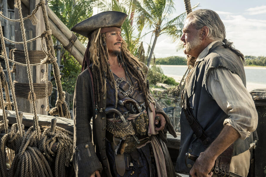 Pirates of the Caribbean 5: Salazars Rache mit Johnny Depp und Kevin McNally