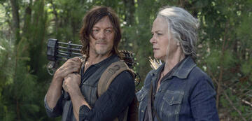 Daryl und Carol in The Walking Dead