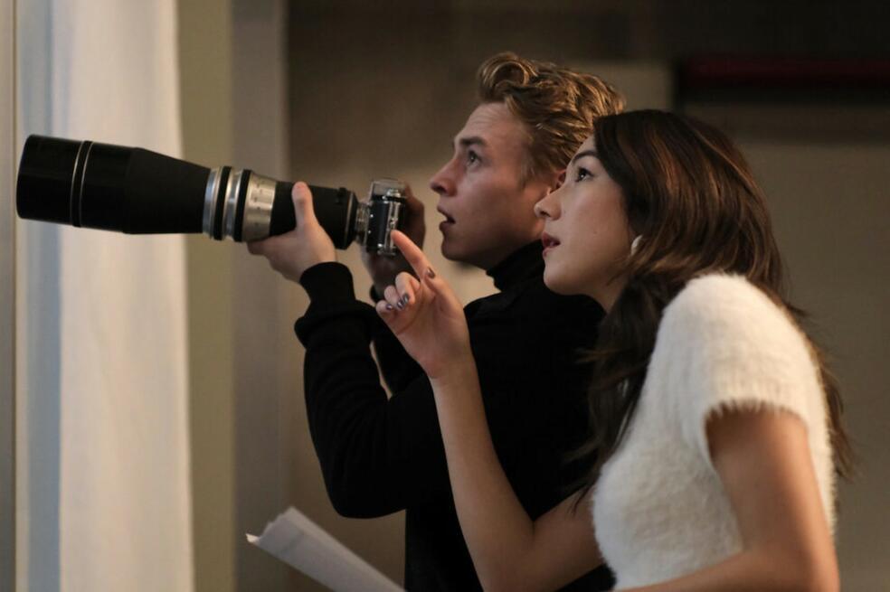 The Voyeurs mit Ben Hardy und Natasha Liu Bordizzo