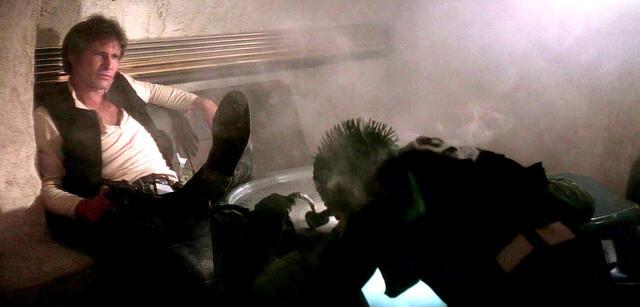 Wer hat zuerst geschossen? Han Solo und Greedo in Star Wars: Episode IV