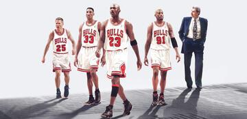 Die Bulls in The Last Dance