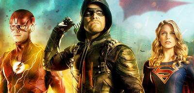 Flash, Green Arrow und Supergirl