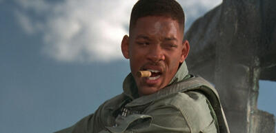 Will Smith in Independence Day.