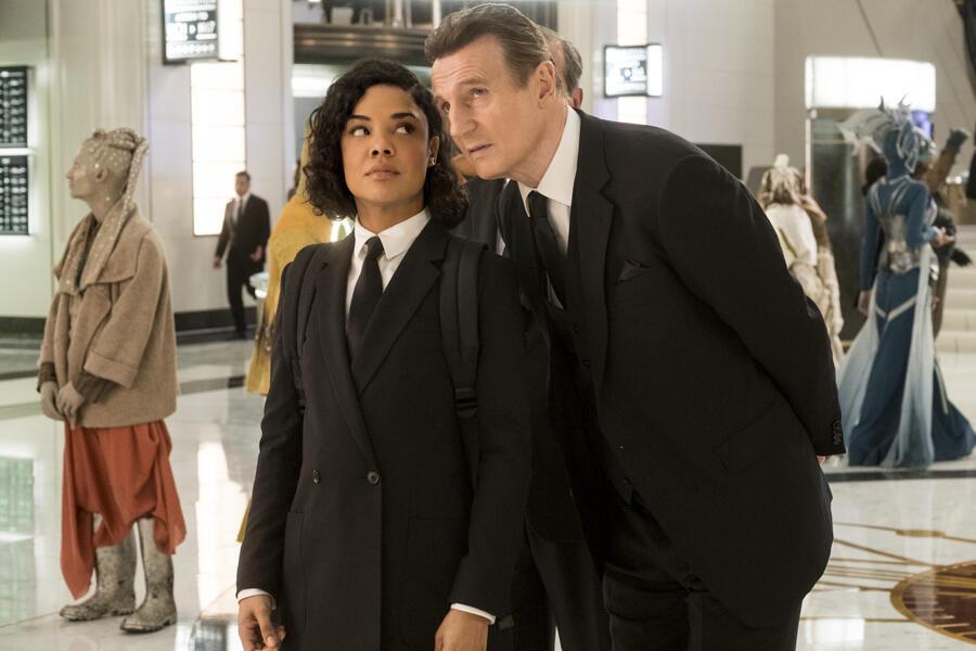 Men in Black: International mit Liam Neeson und Tessa Thompson
