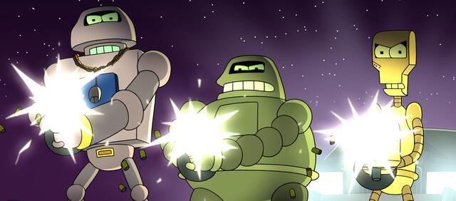 Spannung pur bei den Futurama Spielfilmen