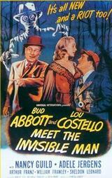 Das Unsichtbare trifft Abbott und Costello - Poster