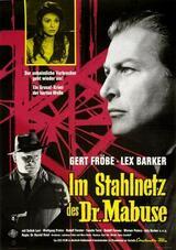 Im Stahlnetz des Dr. Mabuse - Poster