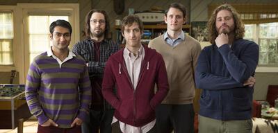 Silicon Valley mit T.J. Miller (rechts)