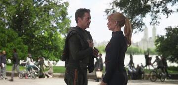 Führt Tony Stark ab jetzt ein ruhiges Leben mit Pepper Potts?