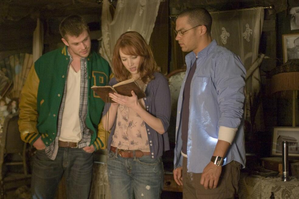 The Cabin in the Woods mit Chris Hemsworth, Kristen Connolly und Jesse Williams