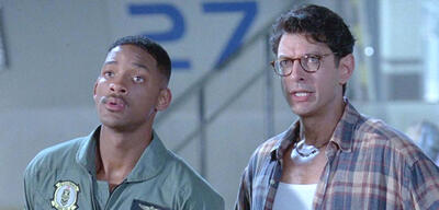 Will Smith und Jeff Goldblum in Independence Day