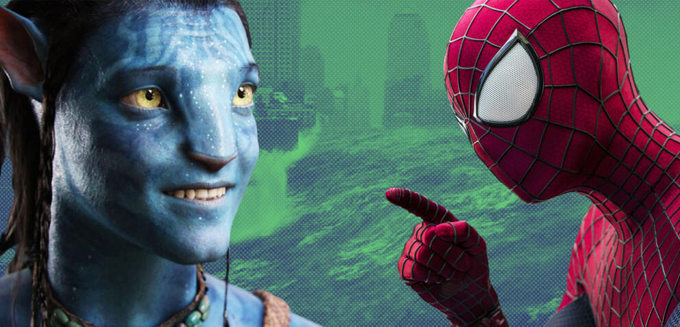 Avatar/The Day After Tomorrow/Spider-Man
