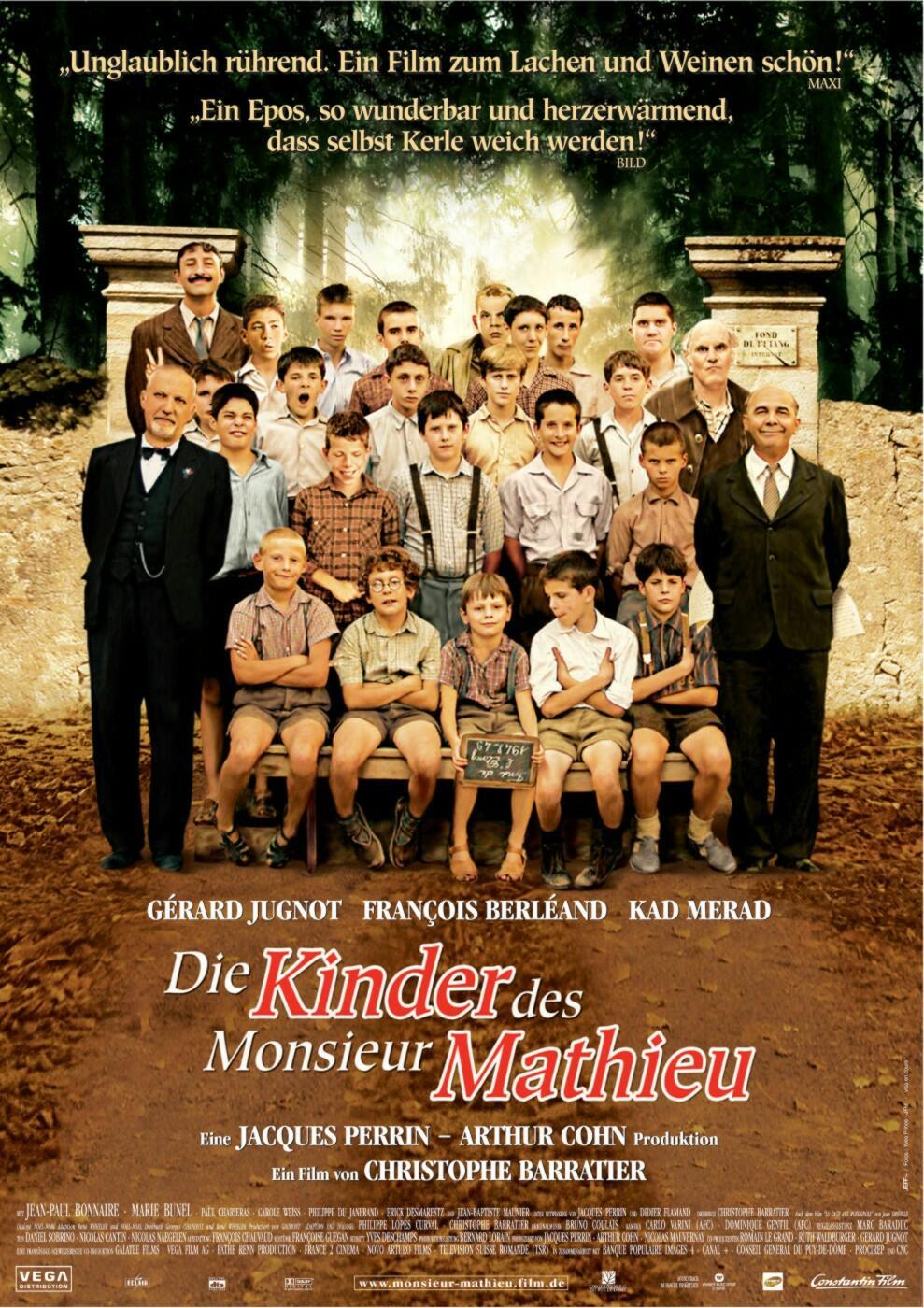 Die Schüler Des Monsieur Mathieu