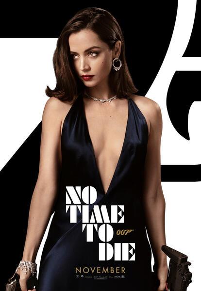 James Bond 007 - Keine Zeit zu sterben mit Ana de Armas