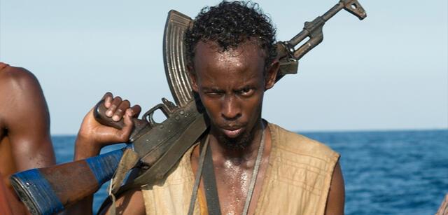 Barkhad Abdi in Captain Phillips