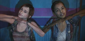 Ellie und Riley in The Last of Us: Left Behind